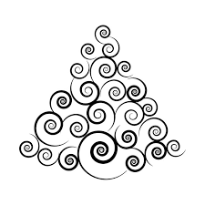 spiral christmas tree limited edition exclusive abstract spiral christmas tree