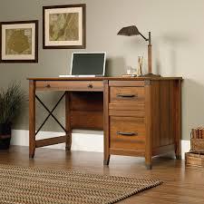 Sauder Graham Hill Computer Desk With Hutch Autumn Maple by Amazon Com Sauder Carson Forge Desk Washington Cherry Finish