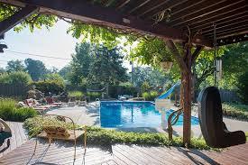 pergola with trellis traditional swimming pool with trellis u0026 exterior stone floors in