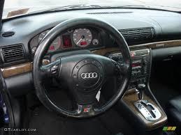 audi s4 2001 2001 audi s4 2 7t quattro sedan onyx blue dashboard photo
