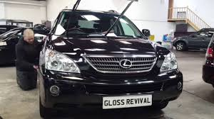lexus new car smell lexus rx 400h full paint correction detail youtube