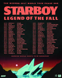the weeknd announces 46 date legend of the fall world tour 2dopeboyz
