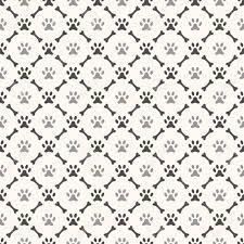 dog paw print pattern wallpapers