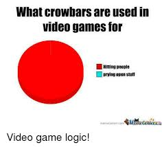 Meme Video Game - 25 best memes about video game logic video game logic memes