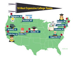 Colleges In Massachusetts Map by Top 10 Most U2014and Least Expensive U2014college Towns 2017 Edition