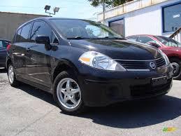nissan tiida hatchback black 2009 super black nissan versa 1 8 s hatchback 29957761 gtcarlot
