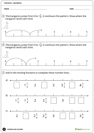counting by fractions worksheet teaching resource u2013 teach starter