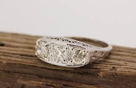 vintage estate engagement rings antique estate rings wedding promise