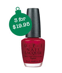 3 opi nail polish for 20 shipped 6 65 each get free gift
