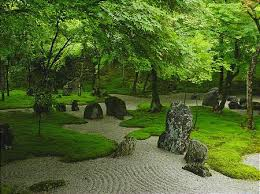 every component in the japanese garden represent some facet of