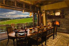 Country Dining Rooms Country Rustic Dining Room By Jerry Locati