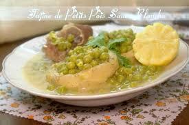 cuisiner les petits pois tajine de petits pois en sauce blanche cuisine algerienne amour