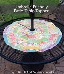 Patterned Patio Umbrellas 33 Creative Sewing Projects For Your Patio Diy Joy