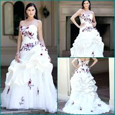 purple and white wedding white and purple wedding dress ostinter info