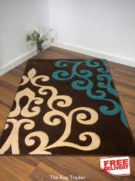 Area Rugs With Turquoise And Brown Awesome Teal And Brown Area Rugs Rug Designs Regarding Turquoise