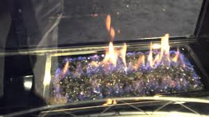 hd81 modern see thru 2 sided large gas fireplace review burn video