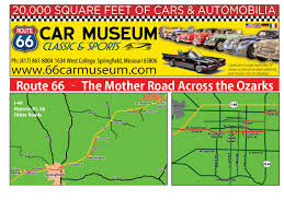 Route 66 Map great places to ride motorcycles in missouri ride the queen city