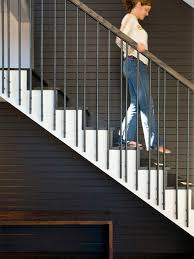 Banister Staircase Stair Railing Detail Houzz
