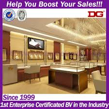 Interior Store Design And Layout Guangzhou Top Temple Layout And 3d Rendering Jewellery Shop