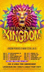 life in color announces initial 2016 kingdom tour dates