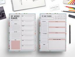 Diy Planner Template Template For Planner 40 Printable Daily Planner Templates Free