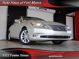 lexus for sale fl 2012 lexus es 350 for sale in fort myers fl stock 508548