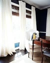 White Bamboo Curtains Bamboo Shades With Curtains Miketechguy