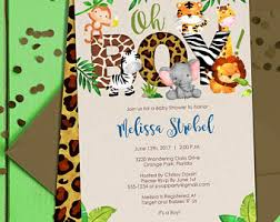 jungle baby shower favors jungle baby shower etsy