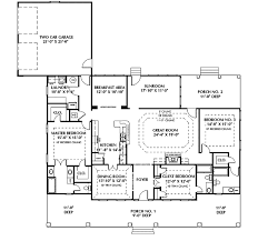 dual master suite house plans fulbright colonial home plan 028d 0050 house plans and more