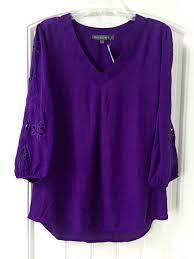 purple blouses purple blouse lace henley blouse