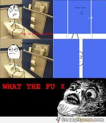 Public Bathroom Meme - humorous meme comics knocking on toilet door