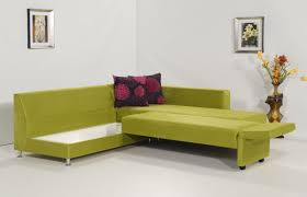 furniture green velvet convertible sectional sleeper sofa with