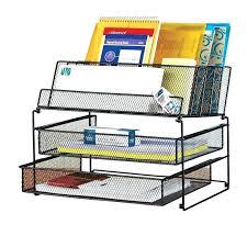 Post It Desk Organizer Black Desk Organizer Desk Organizer Set Desk Set 3 Black