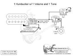 one humbucker wiring diagram diagram wiring diagrams for diy car