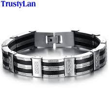 stainless mens bracelet images Trustylan accessory men bracelet brazalet high quality stainless jpg
