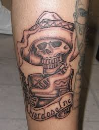 43 gangster skull tattoos