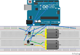 Where Can I Make A Arduino Basics Hooking Up Dc Motors Apc An H Bridge Is Electrical