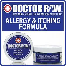 allergy and itching formula for dogs u2013 doctor raw