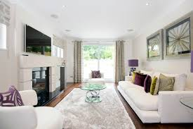 decorating long living room raynes park contemporary living room london by barnes design