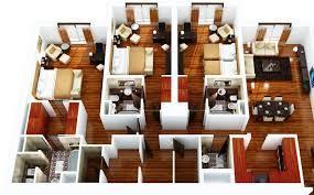 Three Bedroom House Interior Designs Three Bedroom House Free Home Decor Techhungry Us
