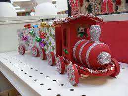 decorate a wooden christmas train porter u0027s craft u0026 frame