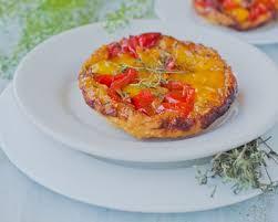 tarte tatin cuisine az recette mini tartes tatin aux poivrons facile rapide