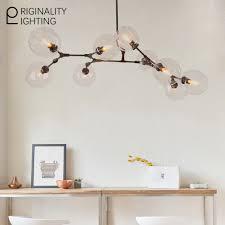 Wohnzimmer Lampe Bubble Glas Lampenschirm Leuchten 9 Globen Verzweigung Blasen Lampen Für
