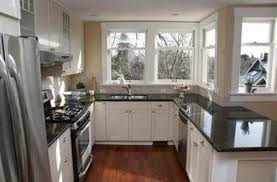 Kitchen Cabinet With Granite Top Light Oak Cabinets With Black Granite Countertops Kitchen