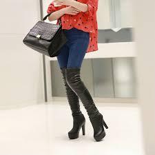 womens size 12 heel boots get cheap size 12 high heel boots aliexpress com alibaba