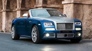 rolls royce roof mansory has added power and bling to the rolls royce dawn top gear