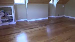 Floating Laminate Wood Floor How To Install An Exotic Click Lock Floating Hardwood Floor