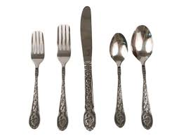 amazon com mf western products engraved silverware 20 piece set