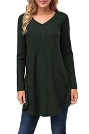 womens tunic sweaters kranda womens tunic sweater v neck sleeve knit a line