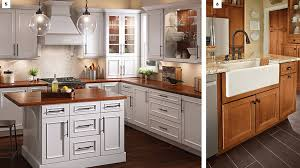 painting kitchen cabinet doors different color than frame 10 cabin kitchen cabinet styles